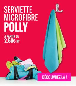 serviette polly publicitaires - objetrama