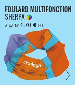 FOULARD PUBLICITAIRE MULTIFONCTION 'SHERPA' - objetrama