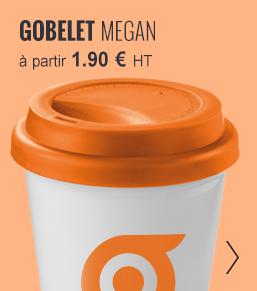 GOBELET PUBLICITAIRE 'MEGAN' - objetrama