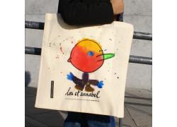 Lou et Annabel : des sacs coton 'tote bag' publicitaires ... à personnaliser !