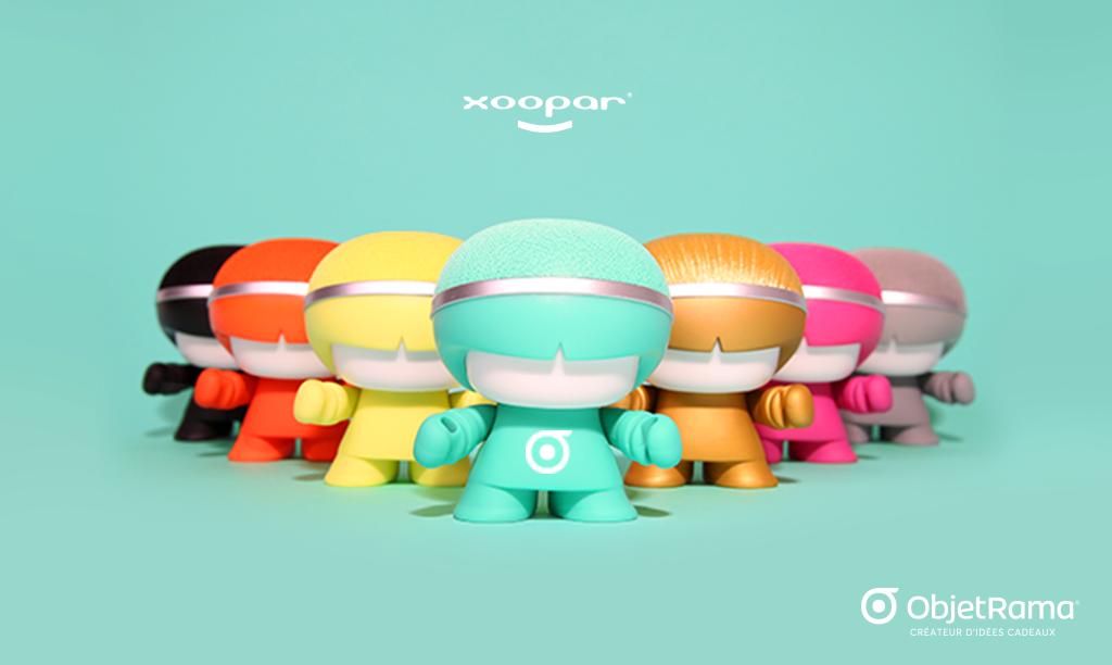 L'enceinte Bluetooth® Xoopar® Mini Xboy, la star des enceintes ObjetRama !